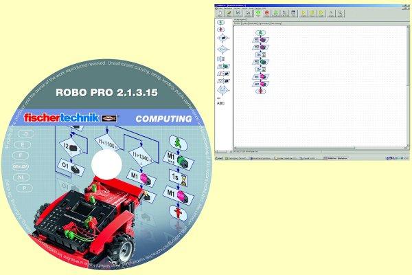 Beschreibung zu fischertechnik 93296 computing plus robo pro software